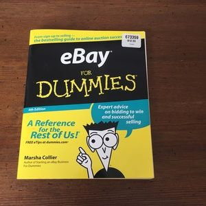 eBay For Dummies Book